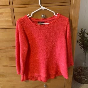 Coral Lightweight Sweater